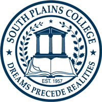 South Plains College Seal: Dreams Precede Realities